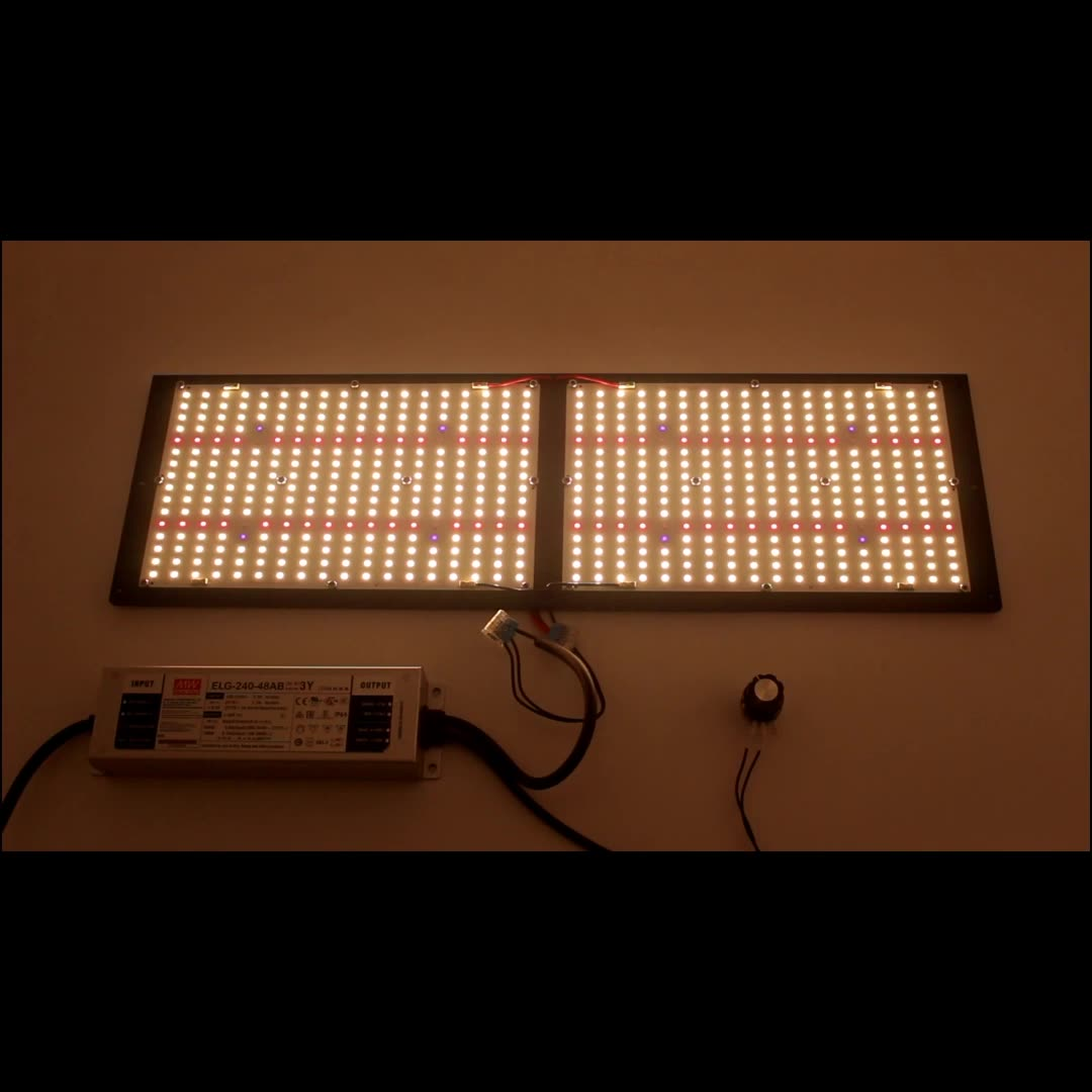 Samsung LM301H led board led 250w grow light 3500K 4000K 3000K mix 660nm with MeanWell driver