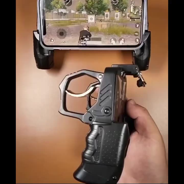 K21 PUBG Trigger Game Controller L1 R1 Shooter For iPhone Android Gamepad Console Joystick