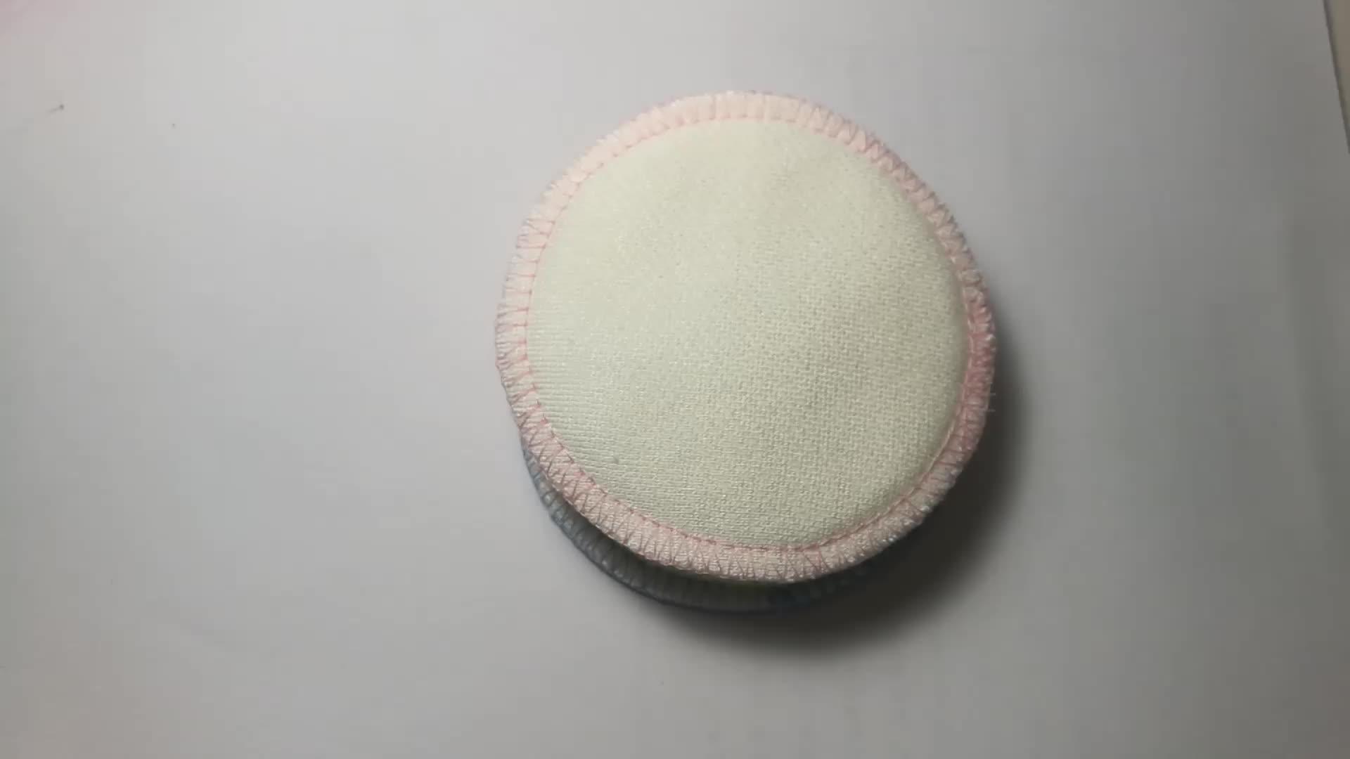 चेहरे की सफाई धो सकते हैं कपास राउंड कार्बनिक बांस मेकअप पदच्युत पैड