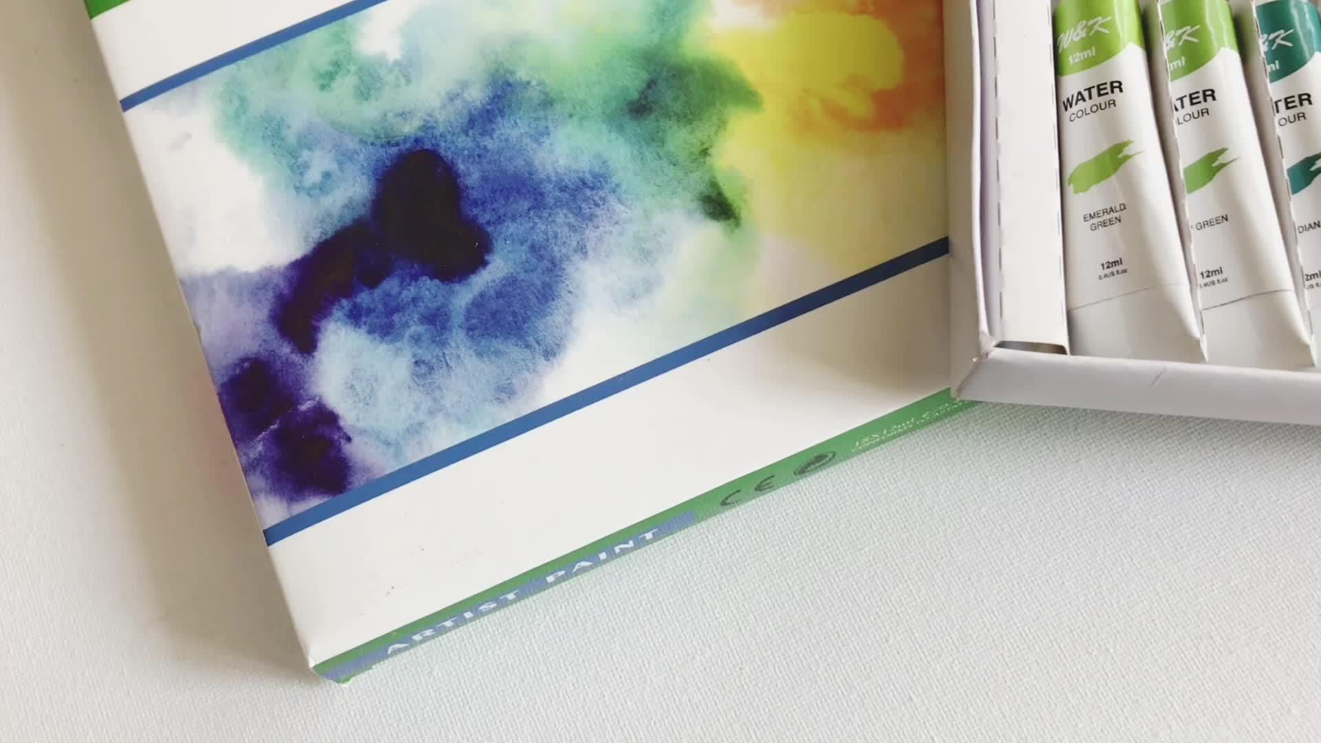 Non-tossico durevole pittura ad acquerello set per i bambini e principianti