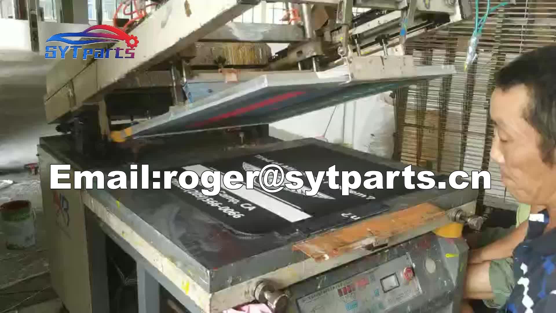 Factory of custom high quality universal mud flaps
