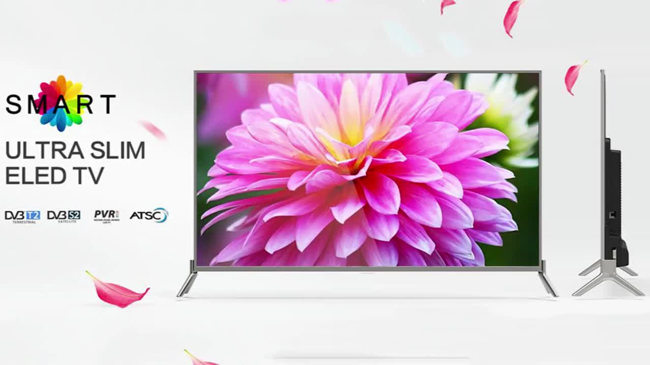 Alibaba Wholesale Good Quality 49 55 58 60 65 75 inch tv smart 4k ultra hd