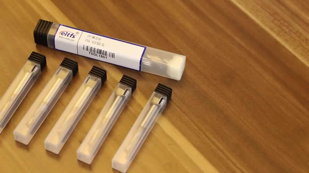 Custom 2 Fluit Hardmetalen Boor Tool Boren Voor Gehard Staal