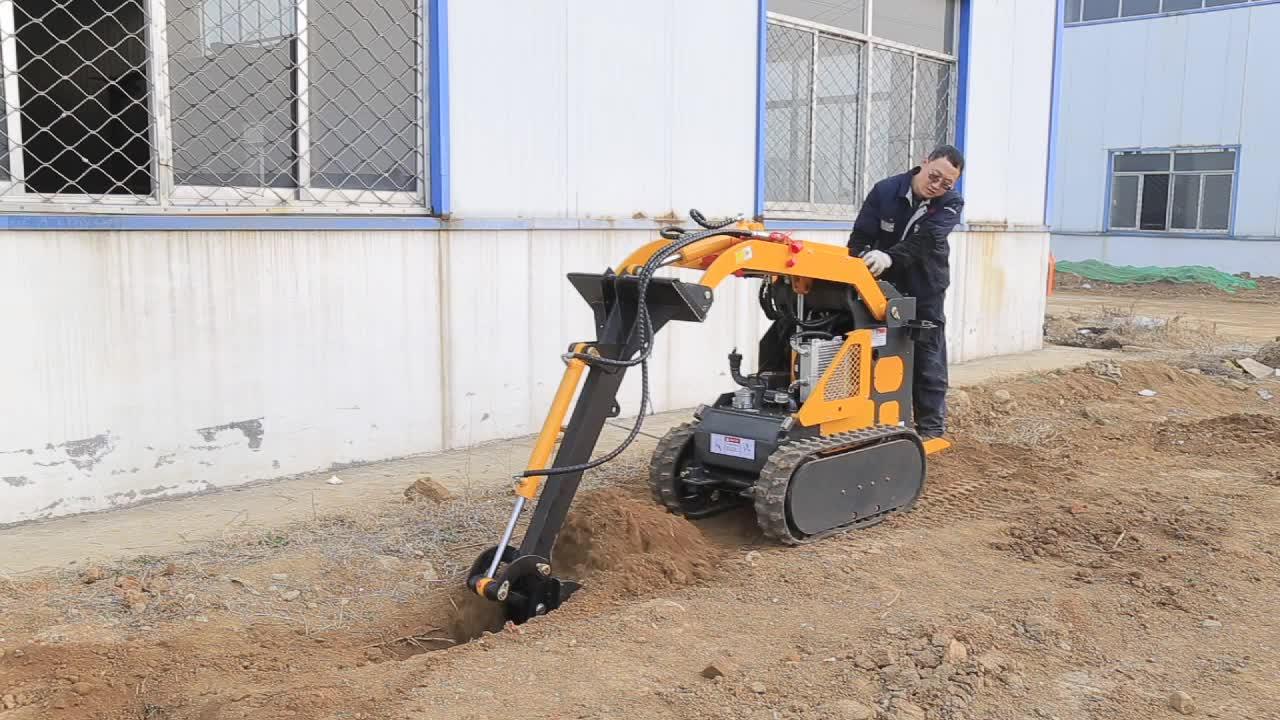garde equipment like dingo skid steer loader mini digger for garden