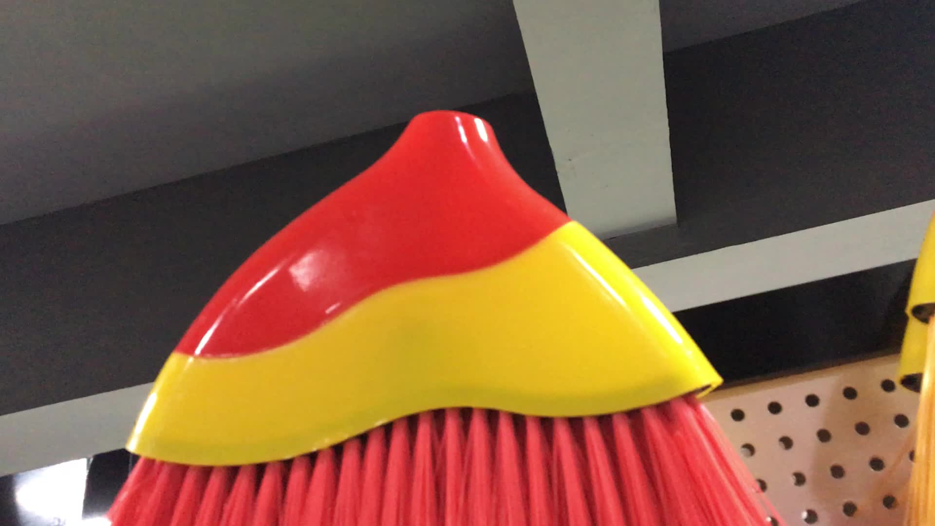 High Quality Plastic Broom With Wooden Handle 2826