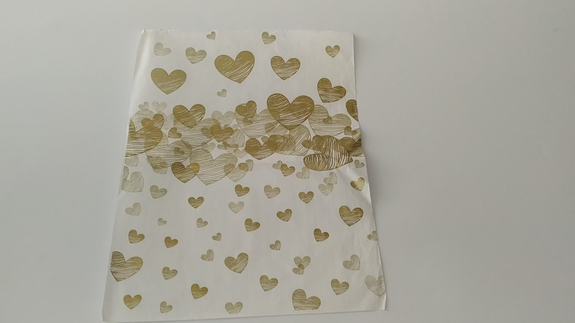 Wholesale Custom Flower Bouquet Wrapping Tissue Paper