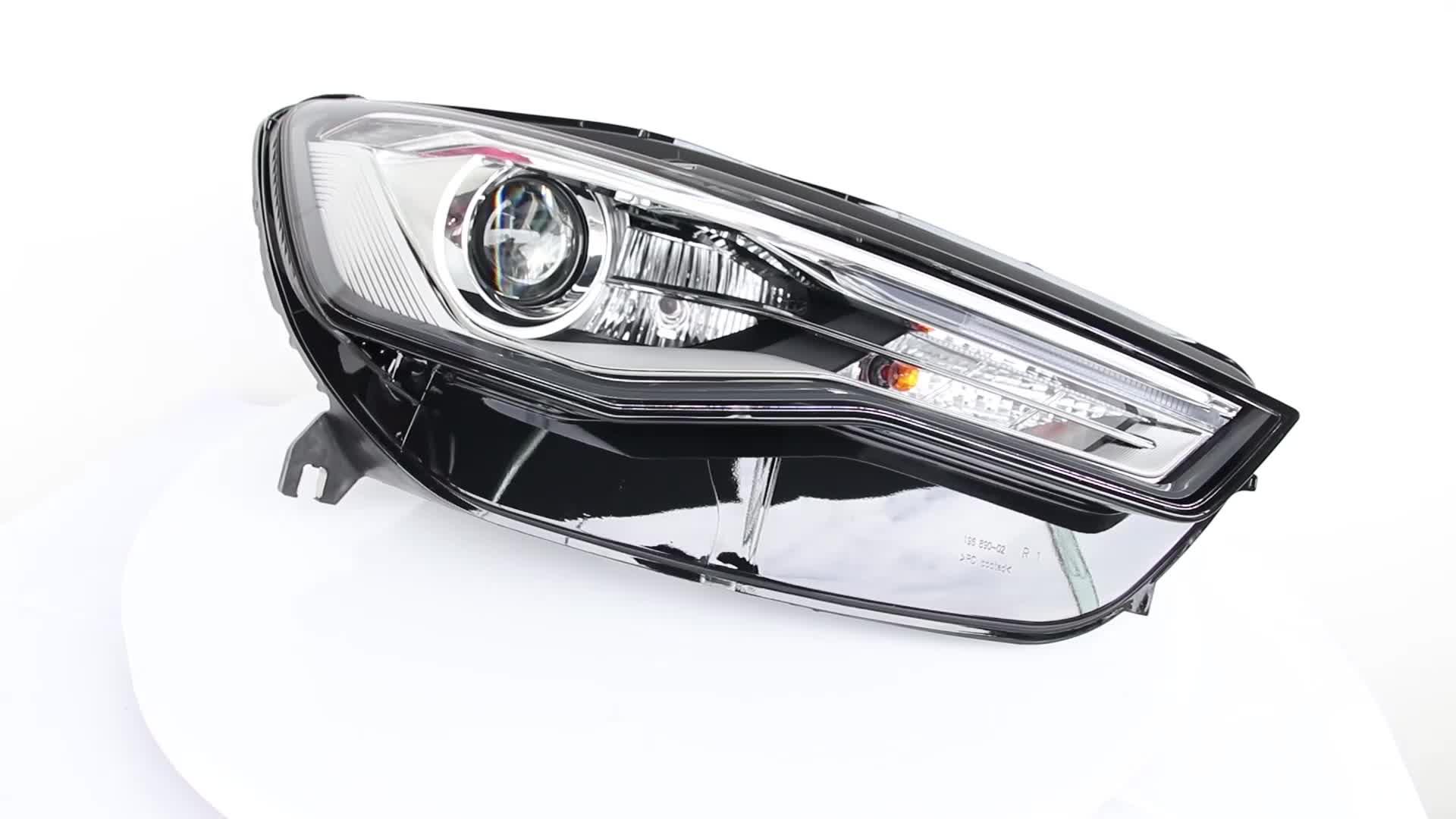 4GD941006A LED Strip Chiếu Đèn Pha Đèn Trước Left Right Ô Tô Led Đèn Pha Cho Audi A6