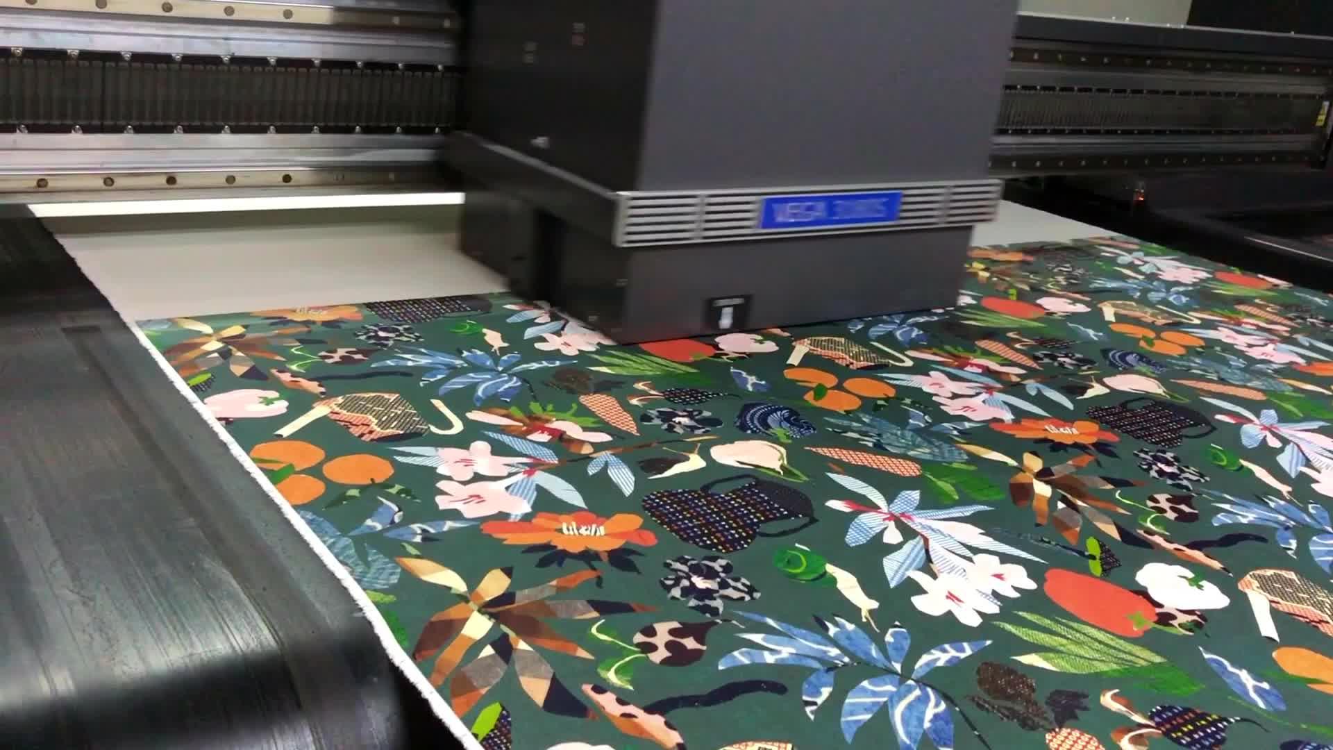 Preço por metro de tecido 100% algodão tecido de impressão digital por atacado fábrica de roupas na china