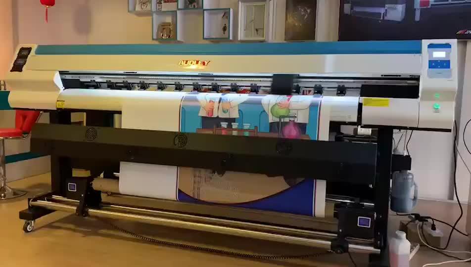 Impressora de sublimação de 4720 Da Cabeça De Impressão Digital Têxtil Máquina de Impressão de Poliéster S2000-D3