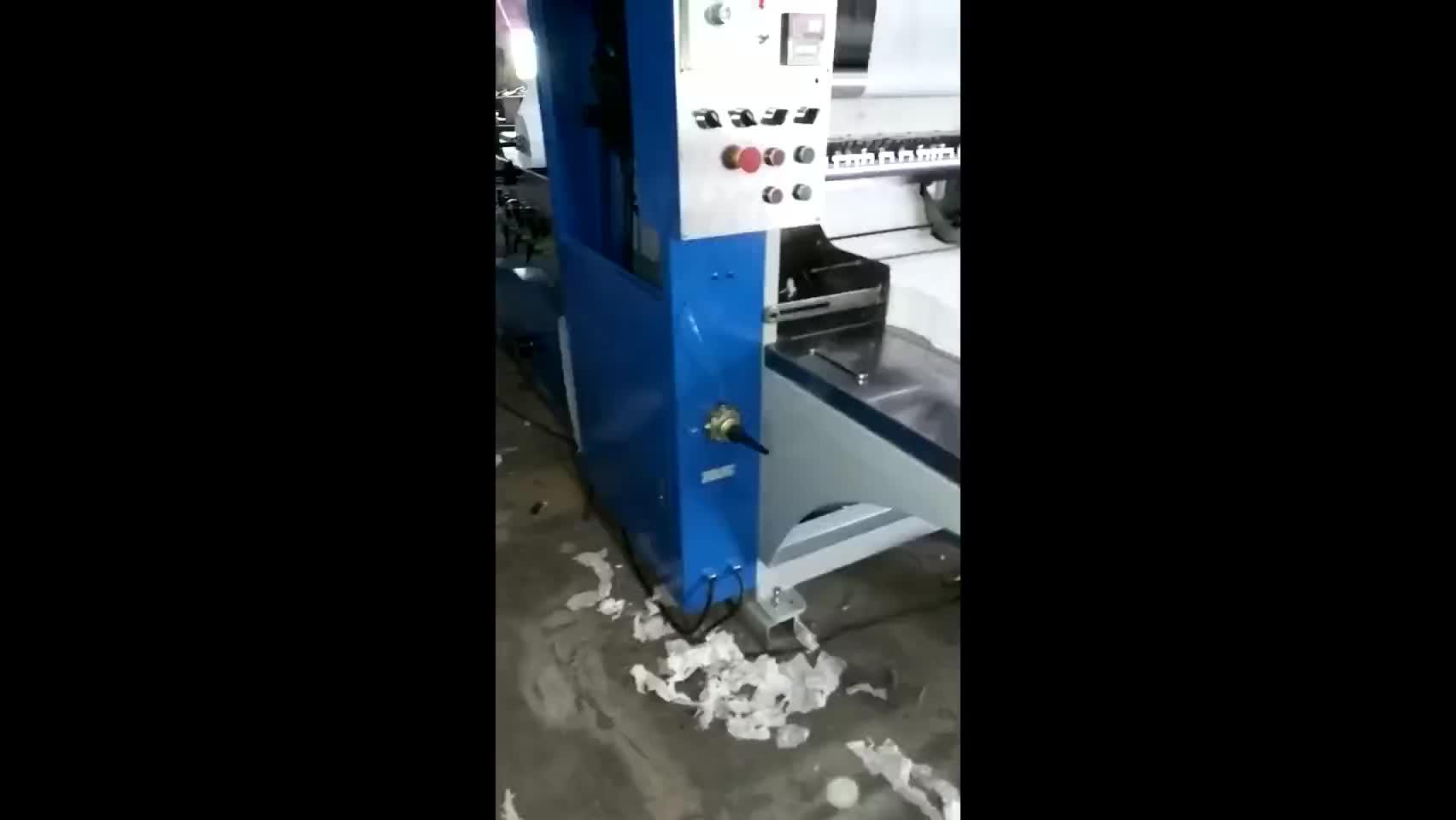กระดาษอัตโนมัติการผลิต Line Facial กระดาษทิชชูกระดาษเครื่องทำขาย