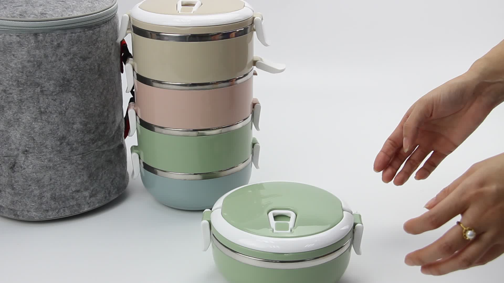 Insulated Food Container Bento Lunch Box