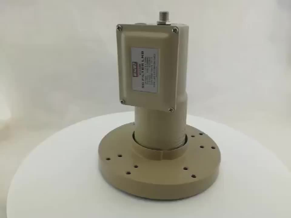 3.8GHz-4.2GHz High Gain C band lnb with Excellent Polarization Isolation for 5G Interference Signal