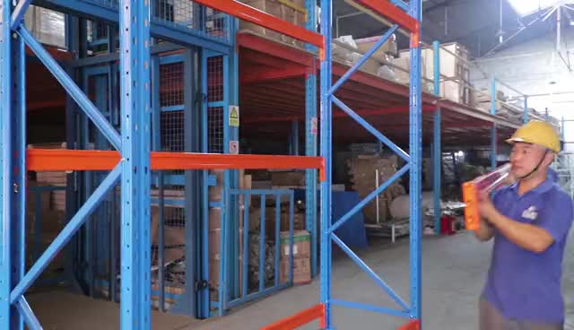 CE certificate heavy warehouse storage rack selective pallet racking warehouse vertical racking systems