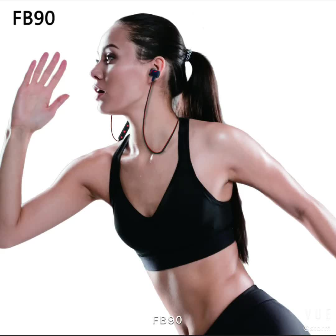Sport neckband Earphone 5.0 TWS Wireless Yoga blue tooth earbuds headset for mobile phone