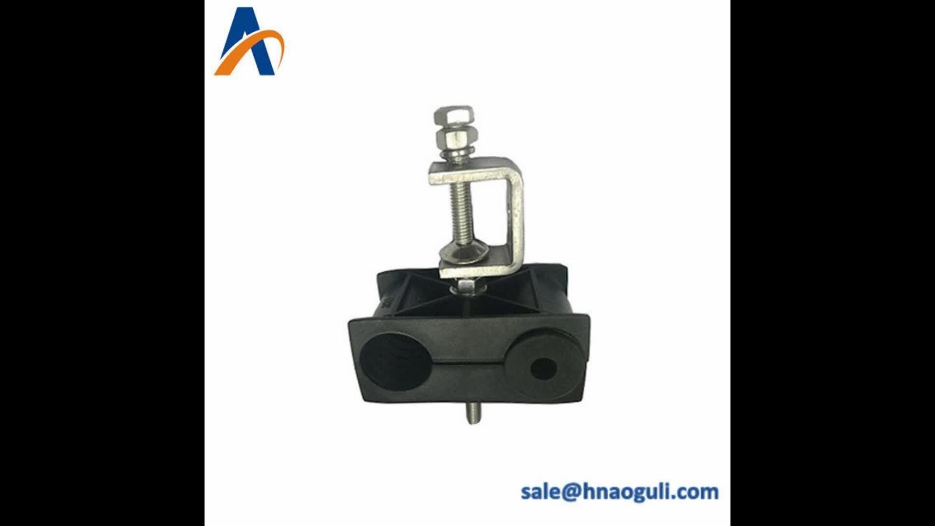 universal grounding hanger cable feeder clamp