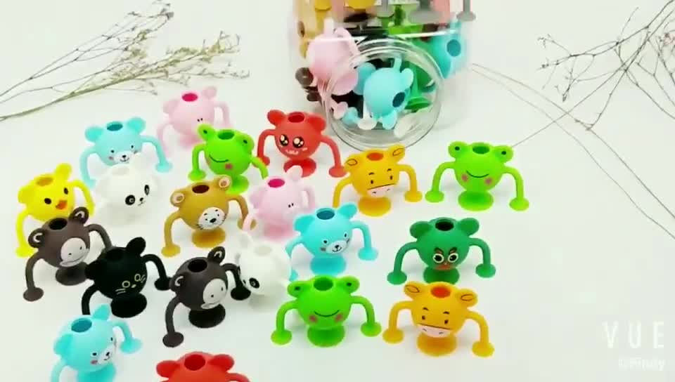 12 Pack Silicone Suction Cup Building Toy Construction Set Cute Compatible with Squigz Suction Building Toy Kit