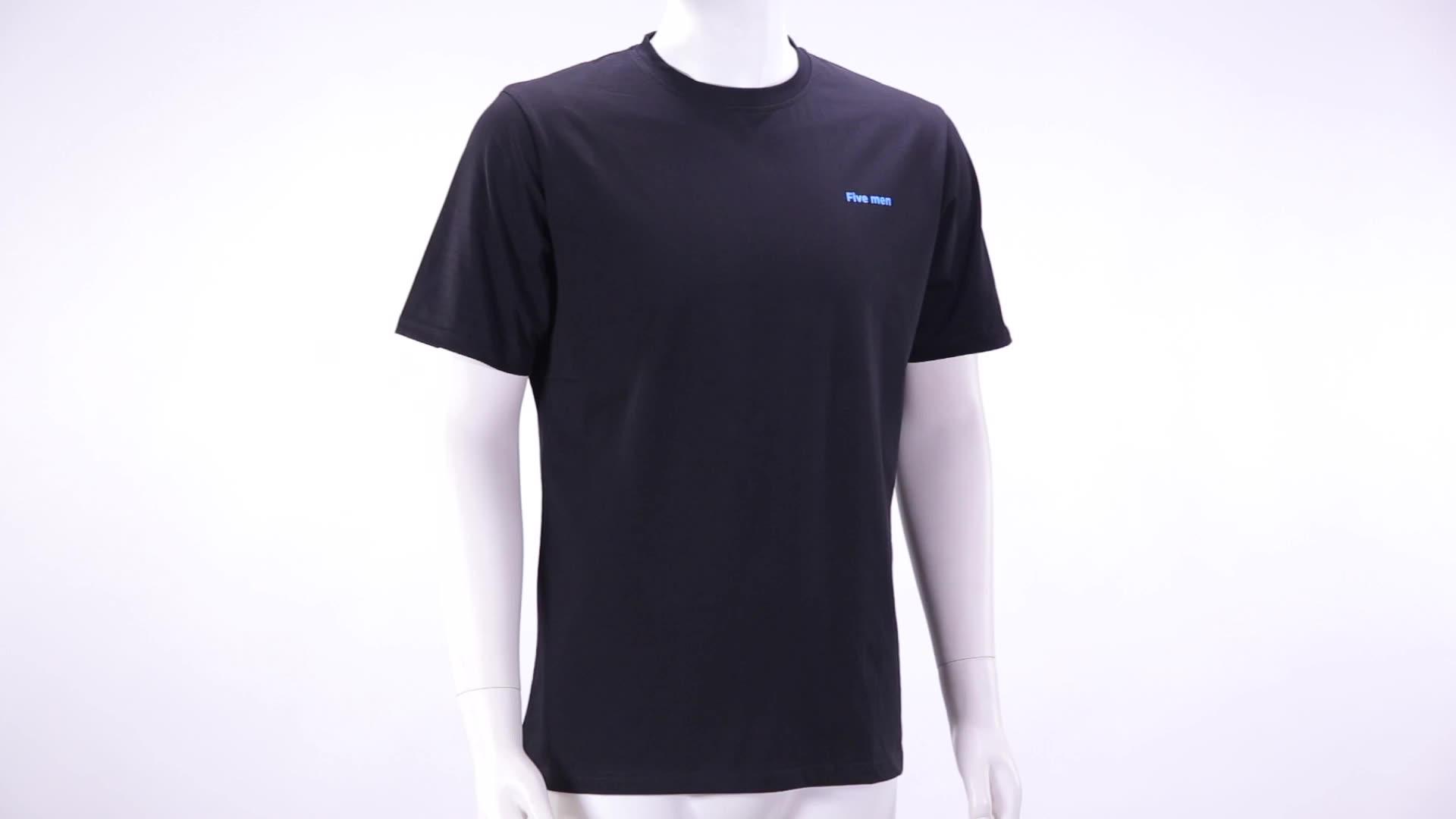 Prezzo a buon mercato $1.3 LOGO Personalizzato Stampa Plain White T shirt per Gli Uomini/Wemen