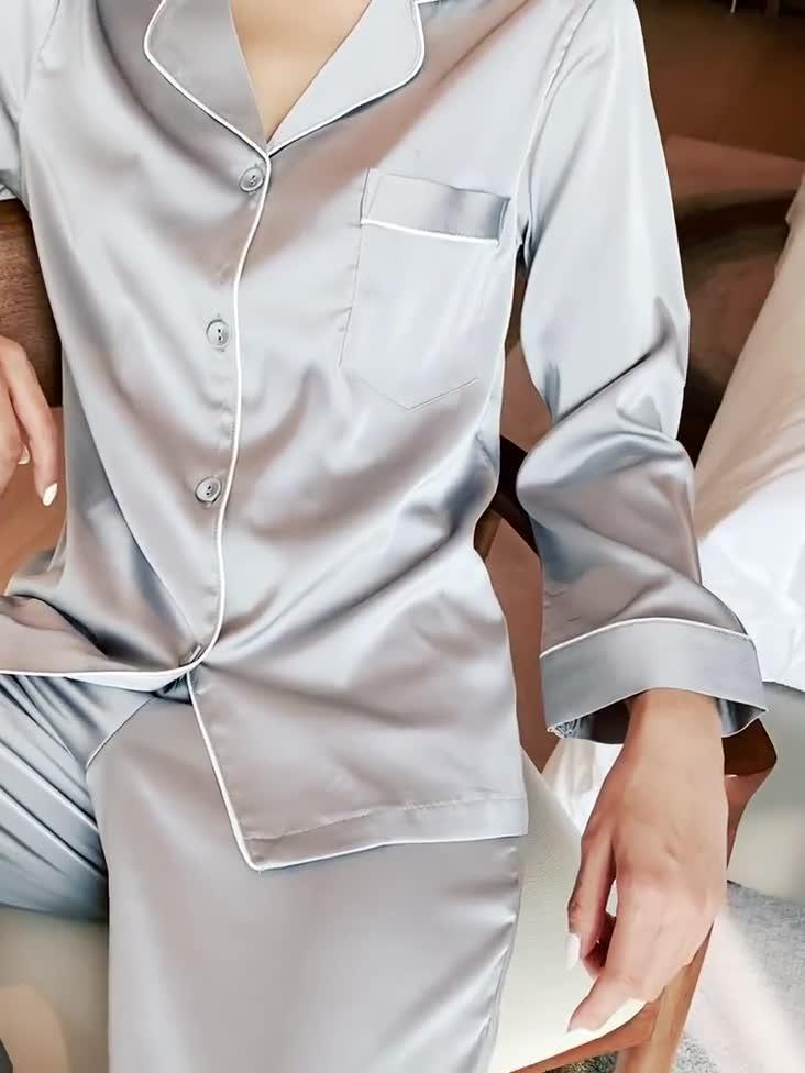 卸売格安女性パジャマパジャマセット秋長袖ホームウェアラウンジ摩耗の女性の綿パジャマ
