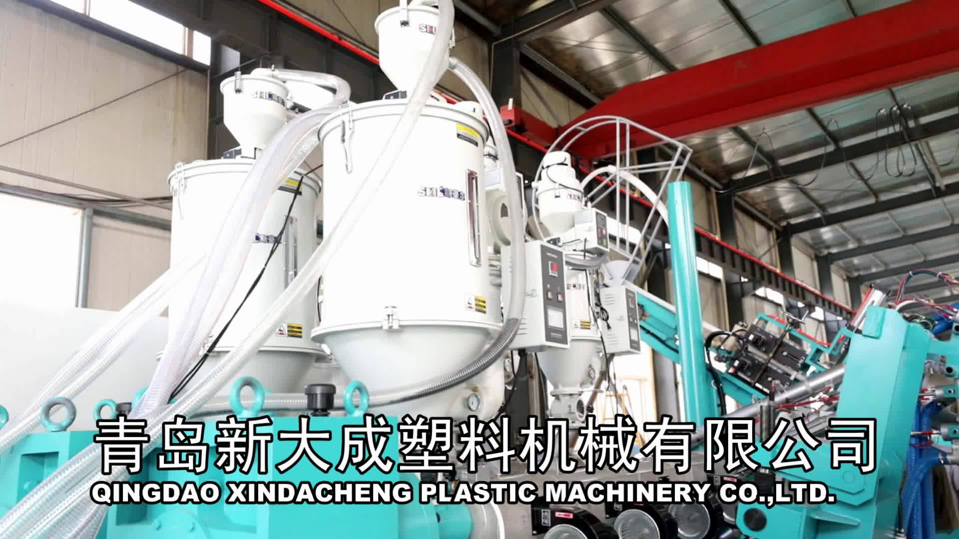 HDPE Krah Large Caliber PE Winding Structural Wall Pipe Production Line75/33/huge diameter drainage pipe making mahine