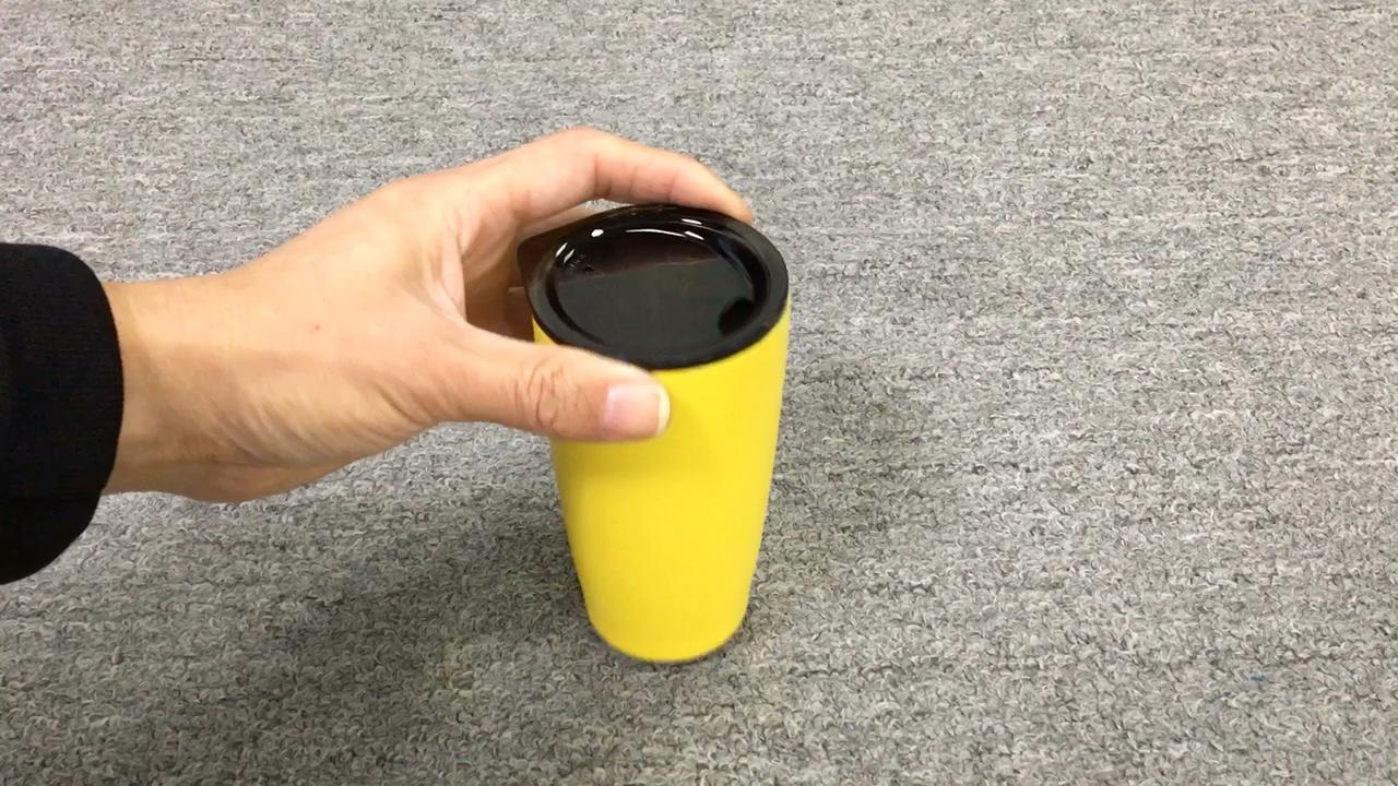 맞춤형 진공 절연 이중 벽 스테인리스 여행 커피 10 온스 와인 텀블러 컵 와인 유리