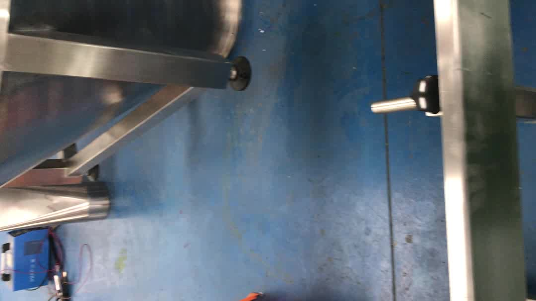Factory price stainless steel 304 /316 pellet hopper / silo assembly