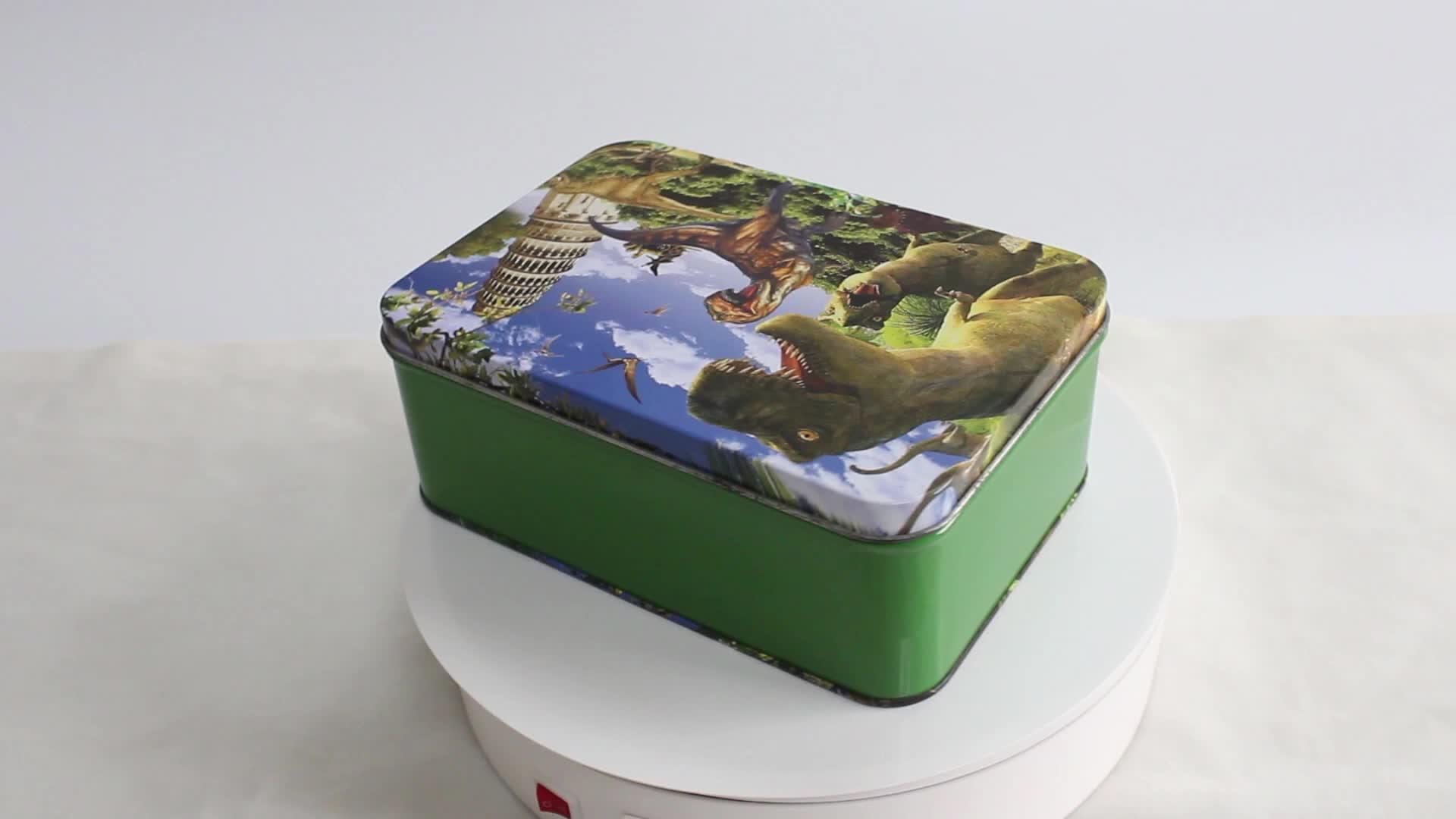 Hot Sale Vintage OEM/ODM Lunch Tin Box