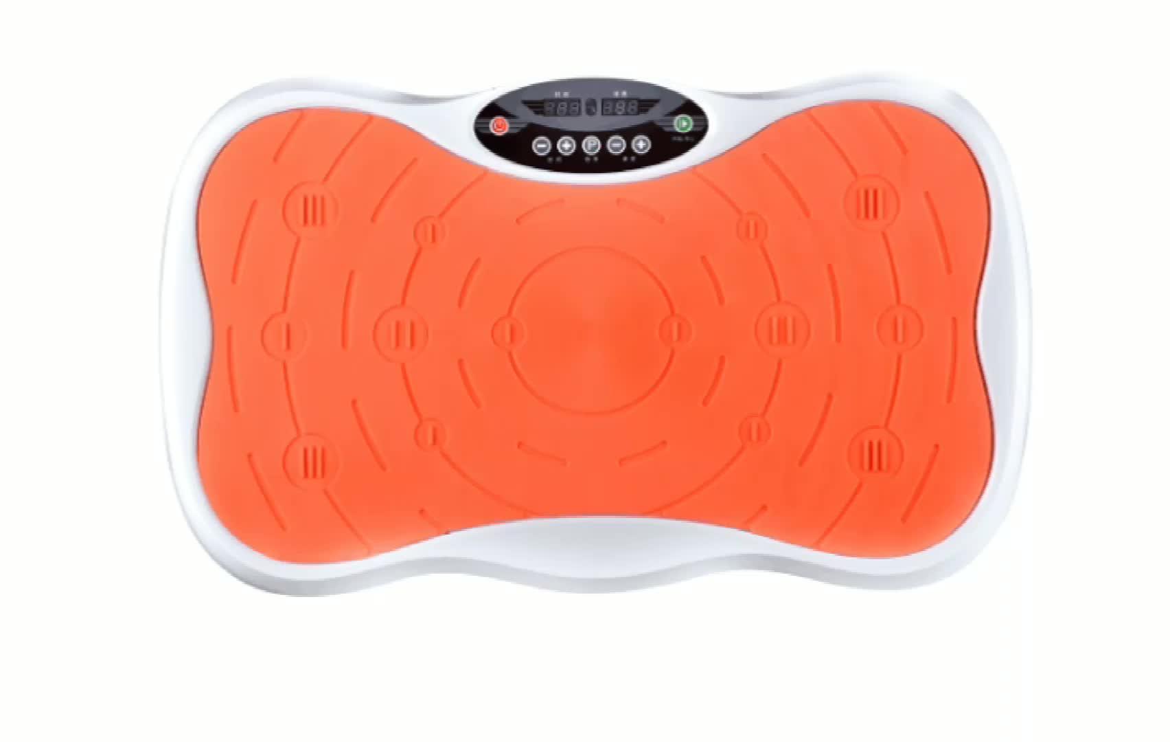 Fitness whole body workout exercise machine small mini ultrathin vibration plate gym fitness equipment whole body Vibration