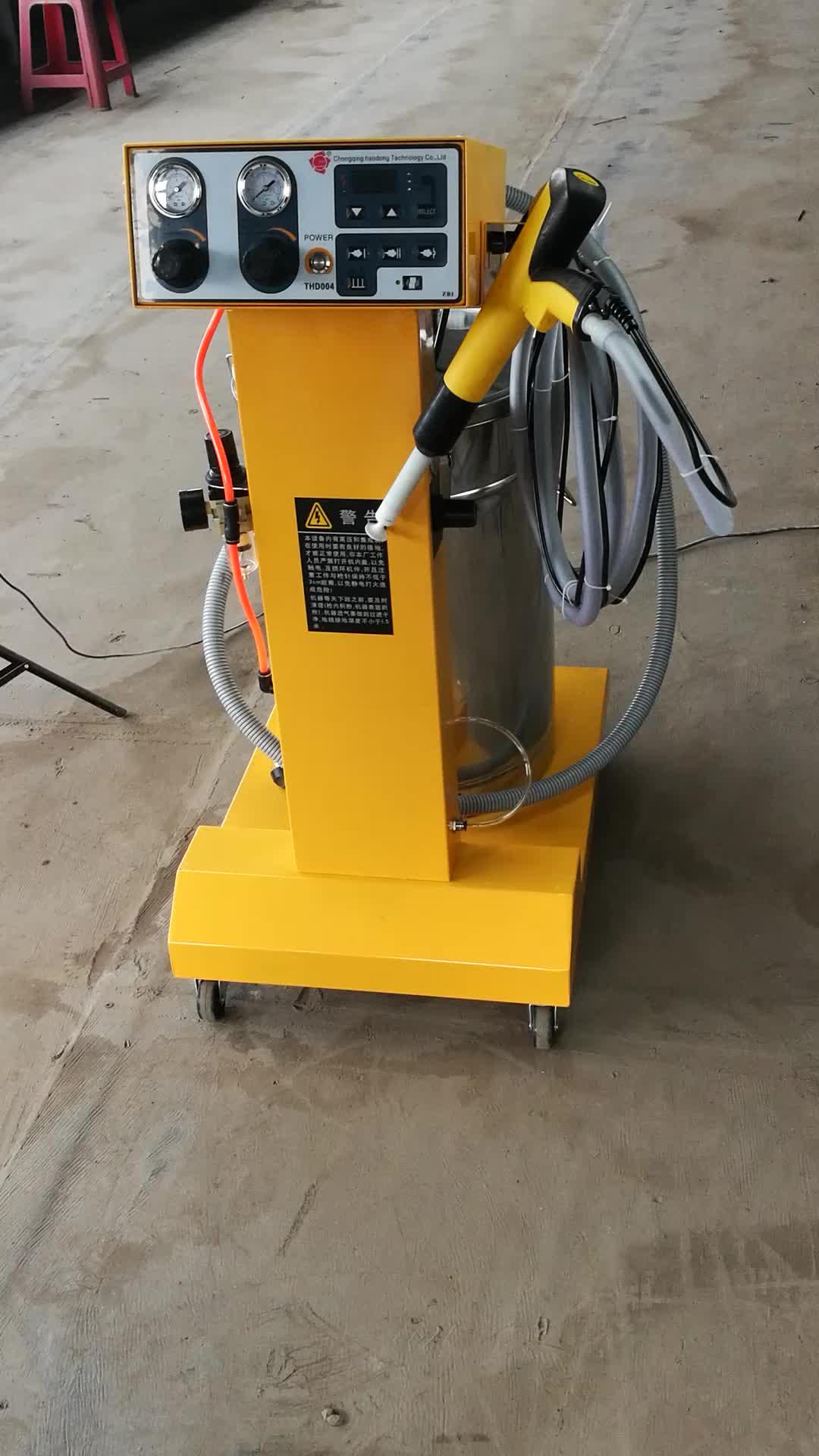 Barato Manual electrostática de la pintura de aerosol de precio de la máquina