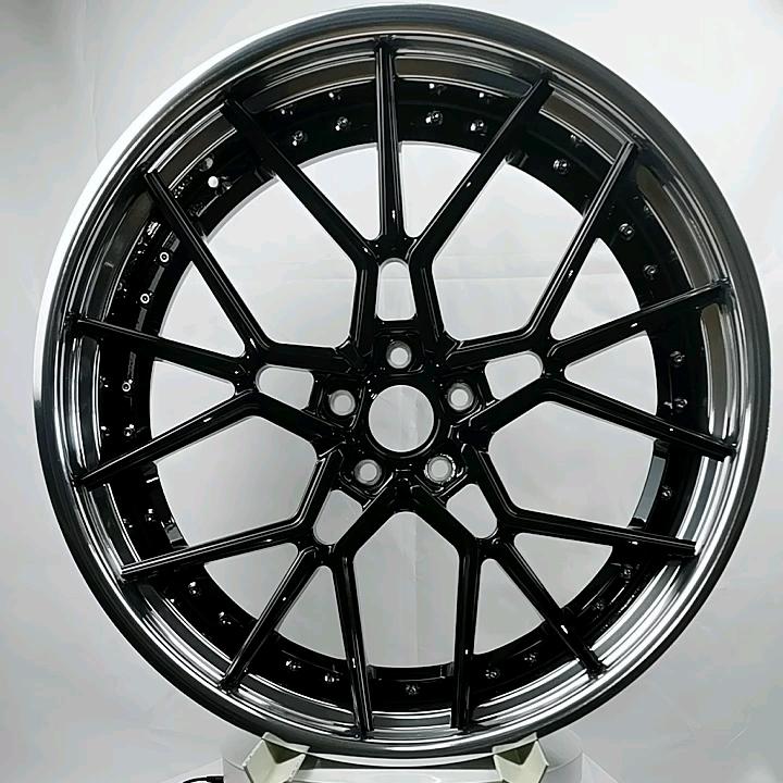 Jantes de roues en alliage d'aluminium, pièces personnalisées, pour 22 pouces