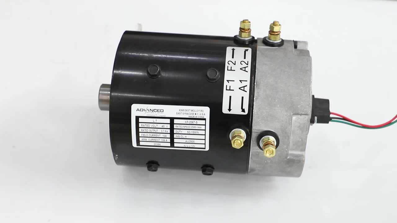 48v 3.8kw brush dc motor electric car conversion kits