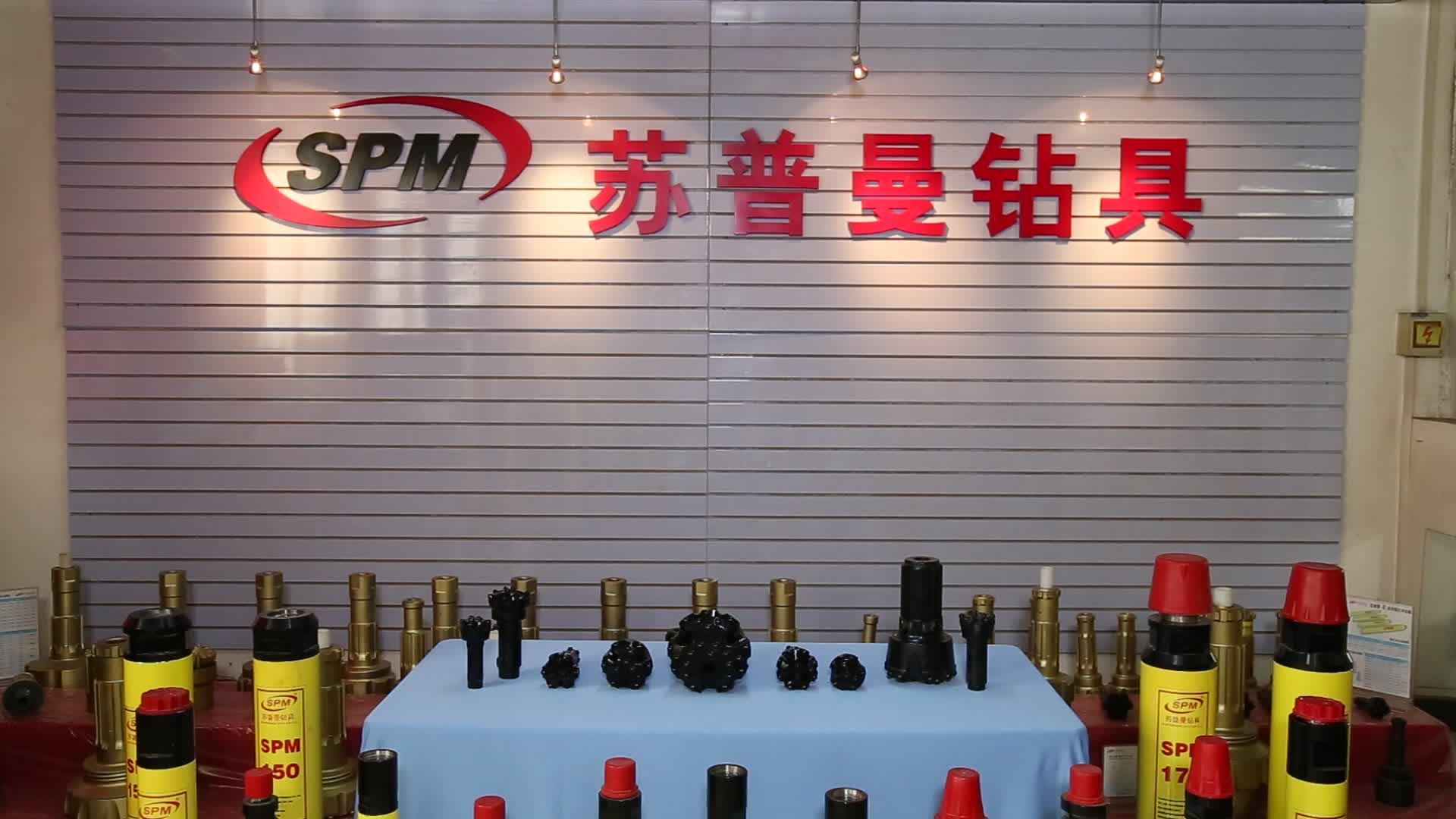 SPM110 CIR110 4 inch DTH Búa cứng carbide đá mỏ than nút khoan bit/khoan bit khoan giếng nước
