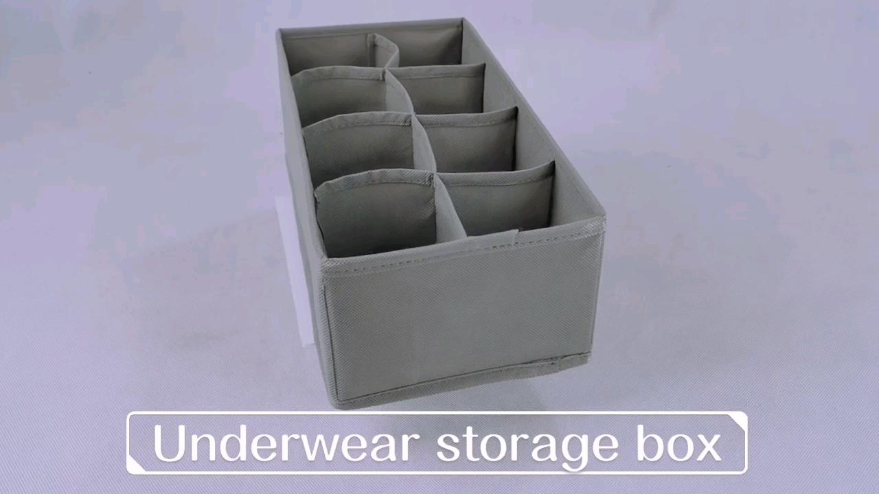 Practical Multi-layer Separation Canvas Storage Box Drawer Organizer Boxes For Storage
