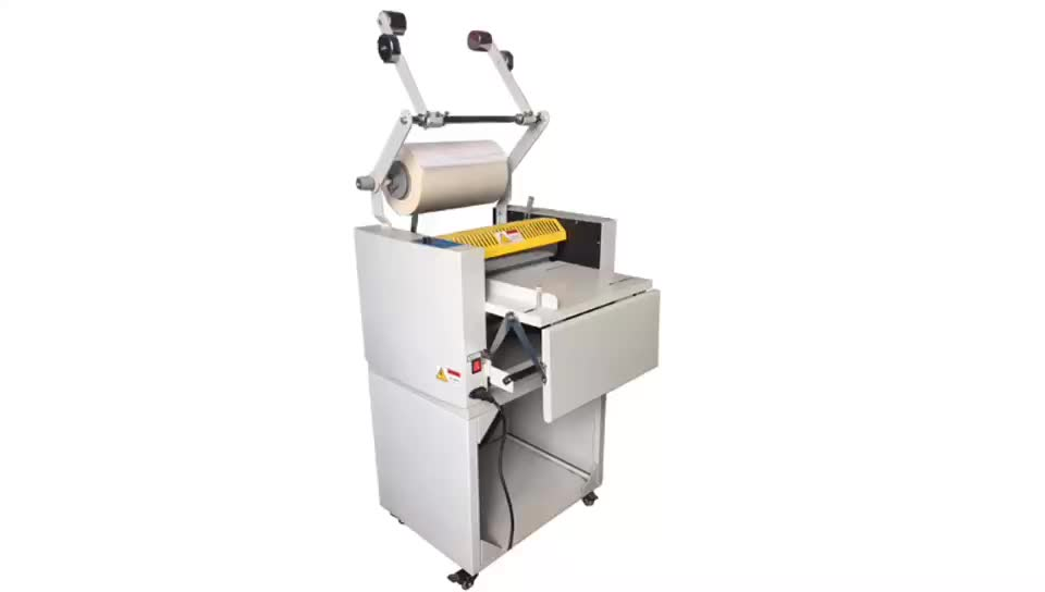 SG-375B manual feeding paper laminating and foil stamping machine