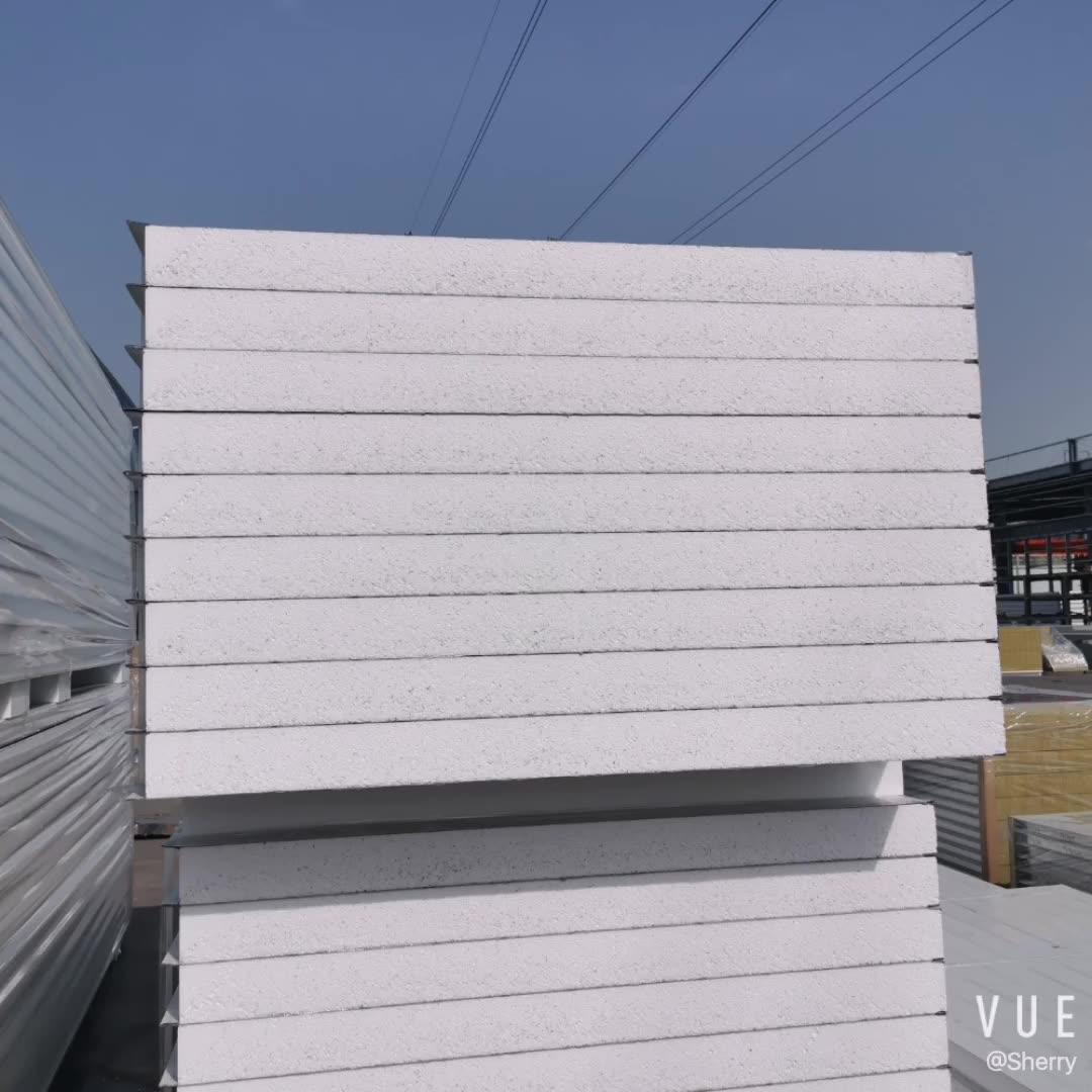 ISO сертифицированная водонепроницаемая/огнеупорная/Изолированная стена и крыша Eps сэндвич-панель