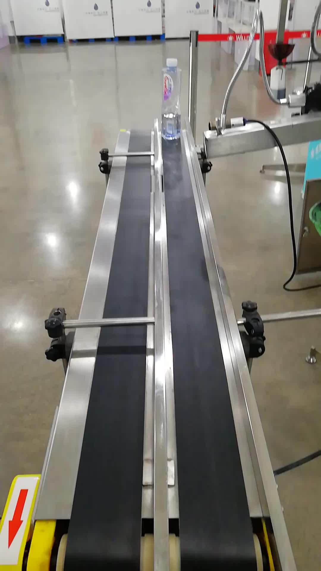 組立ライン工場出荷時の価格を使用して寿命小さな Pvc コンベヤーベルト