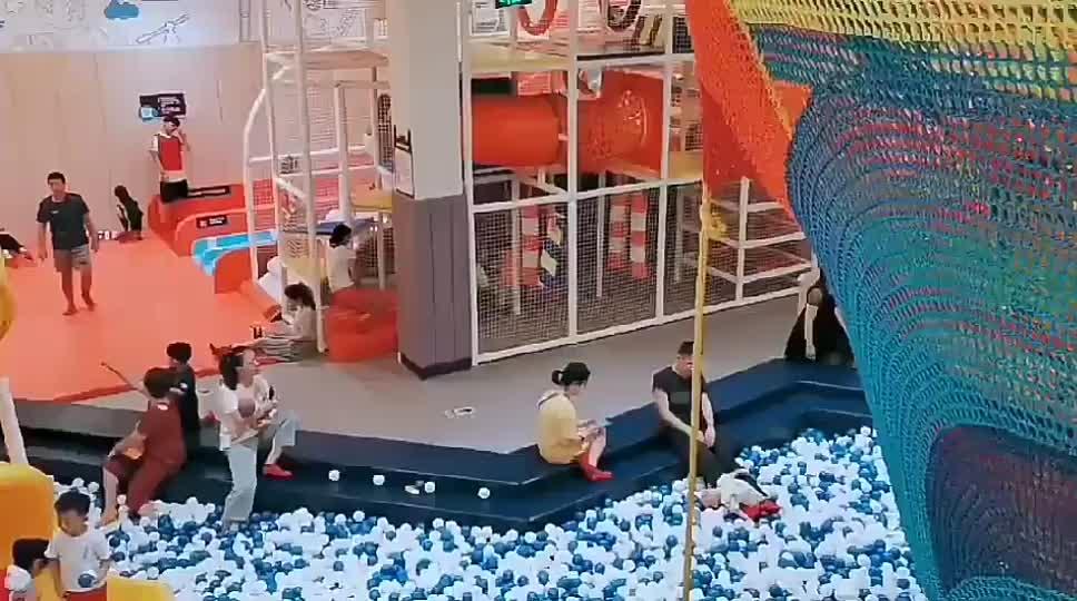Betta Commerciale Arc-En-Ciel Au Crochet Net Escalade Aire De Jeux