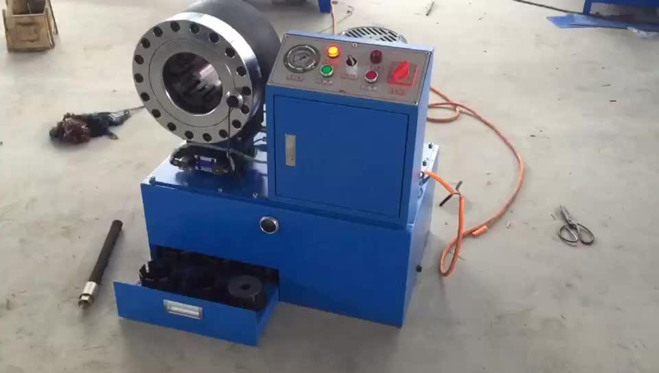 Prensa hidraulica para mangueras usadas en venta