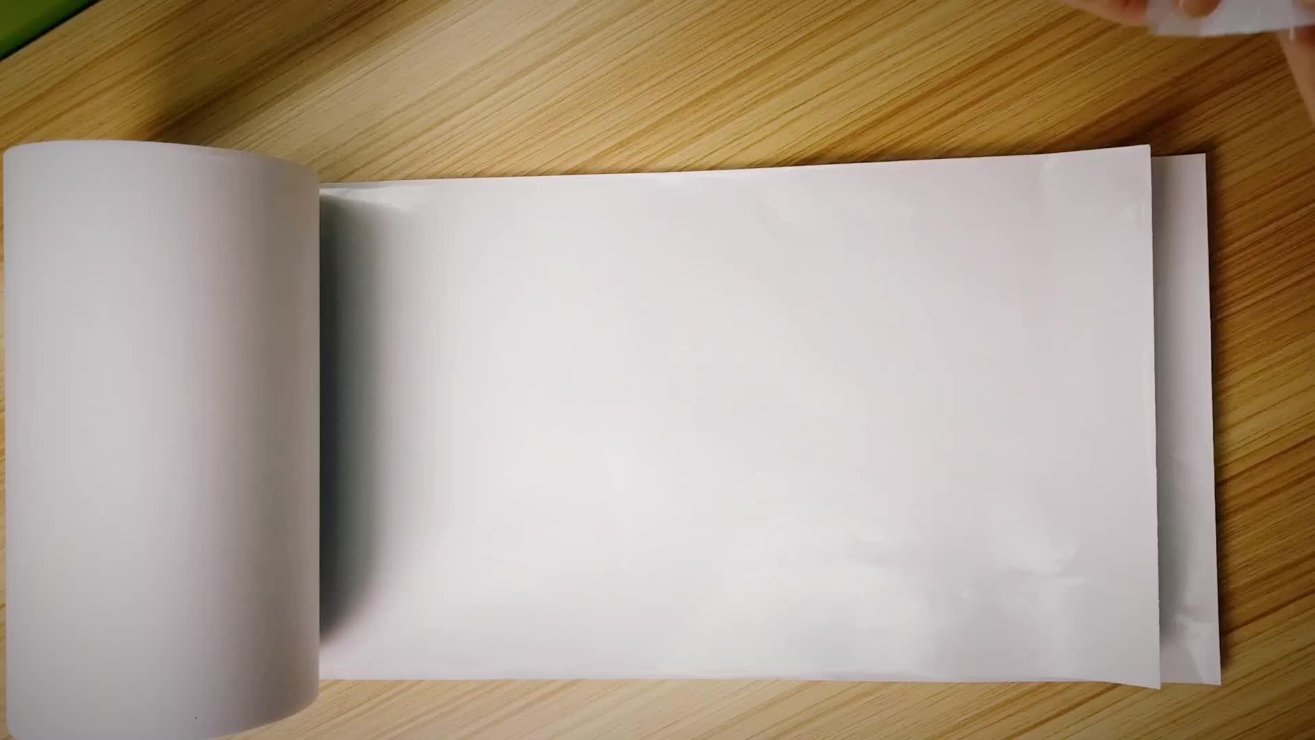 Yüksek kalite beyaz kraft yayın kağıdı 100 gsm güzel fiyat ile