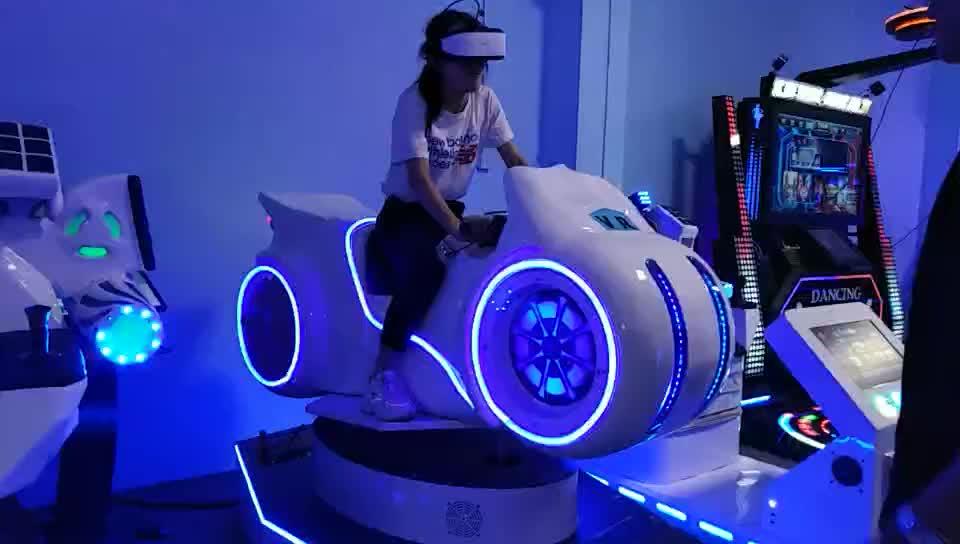 Nhà Sản Xuất Nhà Máy Hight Chất Lượng 9D VR Thực Tế Ảo Đua Mô Phỏng Xe Máy Đua Trò Chơi Cho Vui Chơi Giải Trí Công Viên