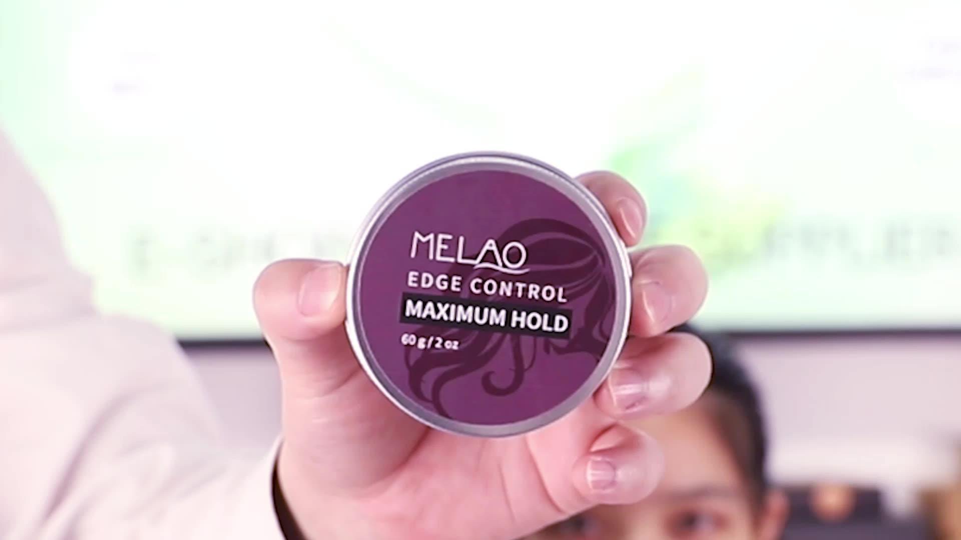 Großhandel benutzer definierte Private Label wasserdichte natürliche organische Kanten kontrolle für Haar wachs