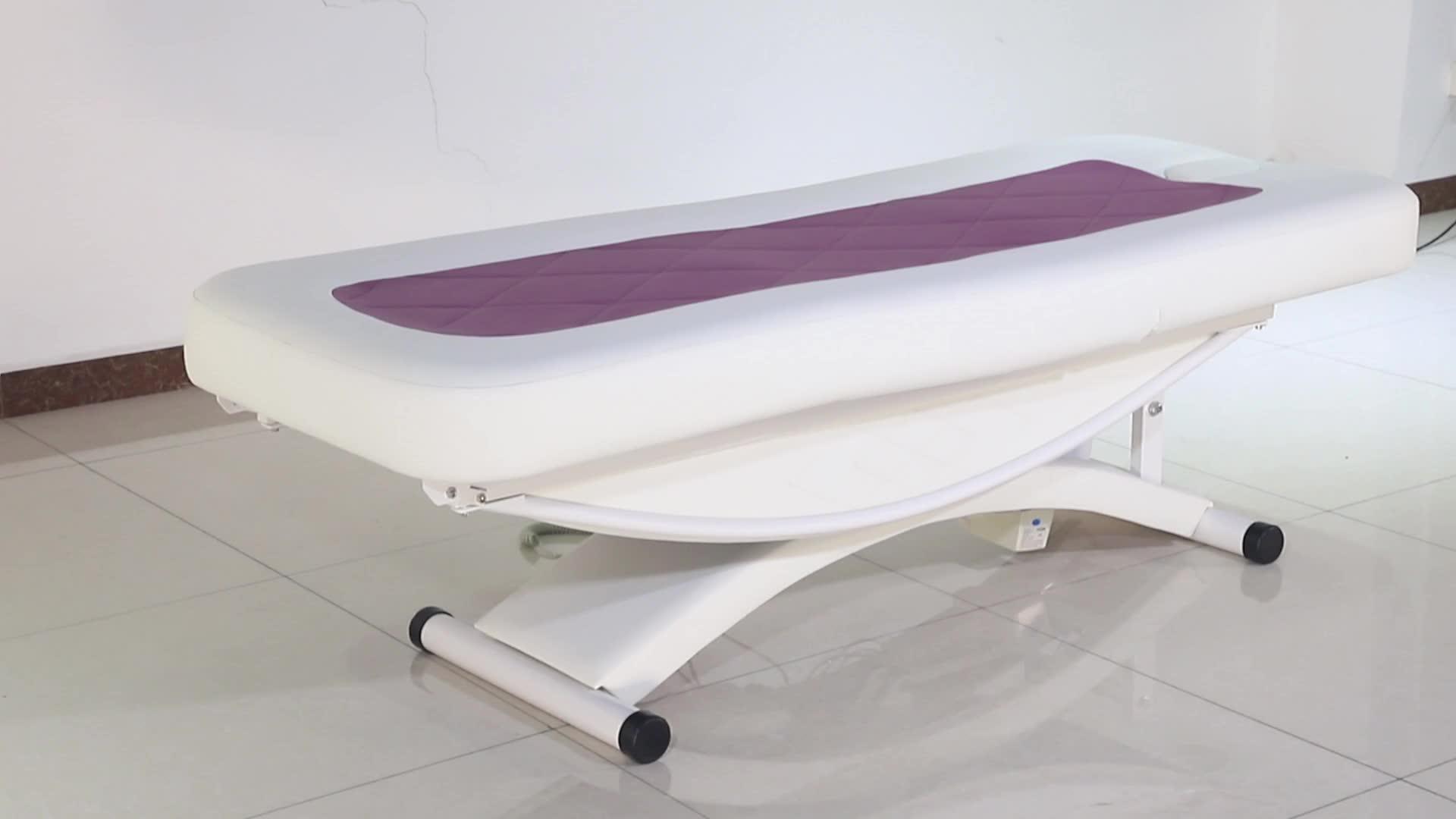 Kangmei Ceragem الجمال صالون الأظافر 3 محركات كهربية تحكم سرير تدليك الوجه سبا الجدول