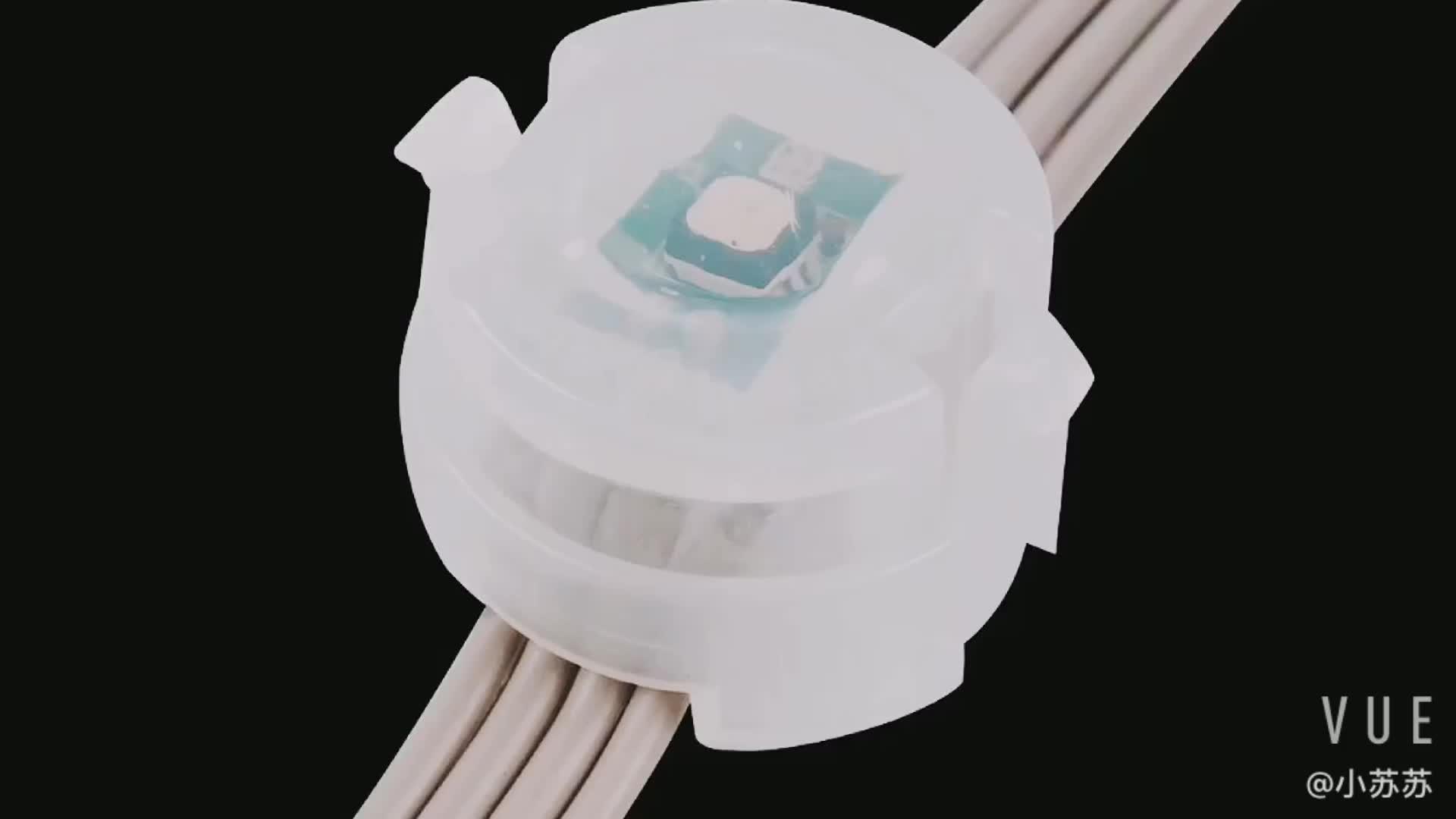 Tahan Air IP68 20 Mm LED Titik Sumber Cahaya untuk Landscape Lighting