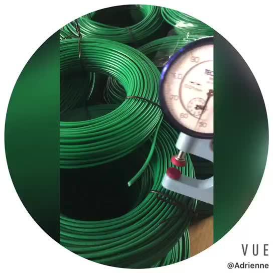 Yeşil sınır tel 3.8mm robotlar çim biçme makinesi kablo çevre tel Robot çim biçme makinesi