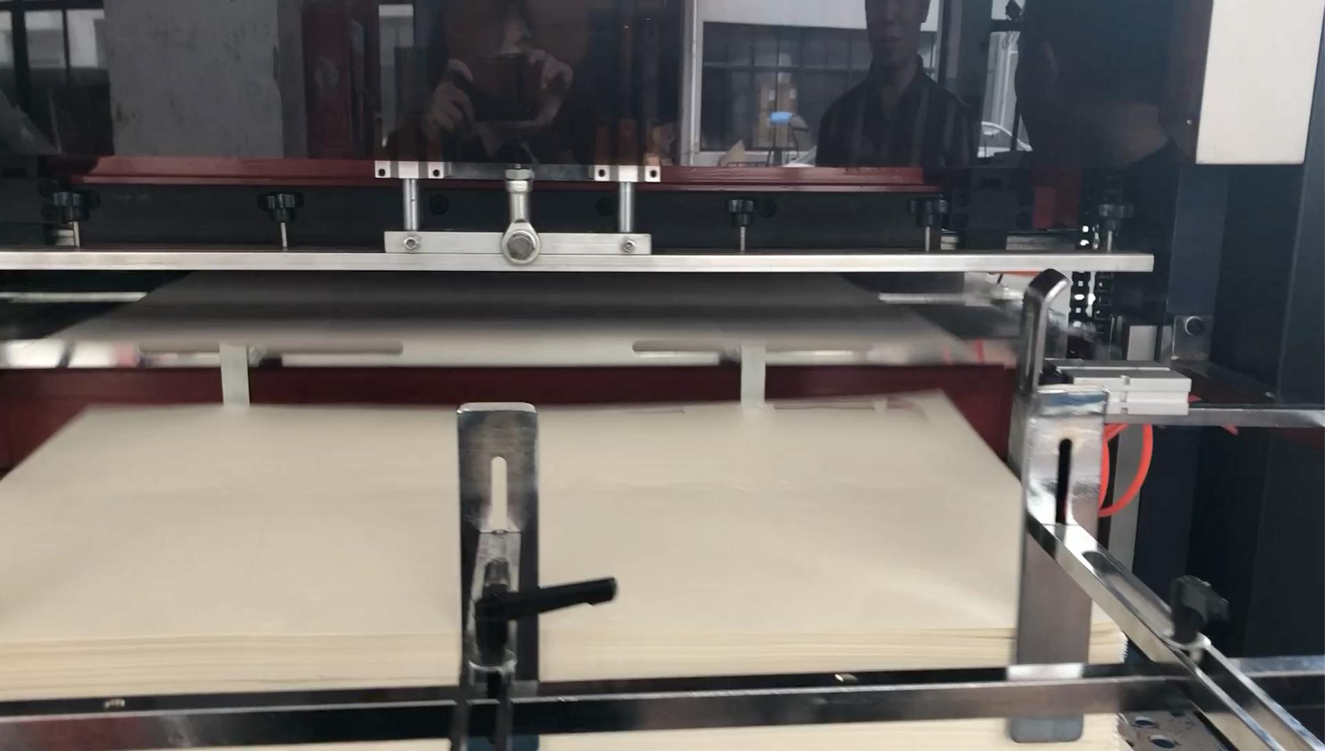 MR-950 Qualität Automatische Rolle Pappbecher Stanz Maschine