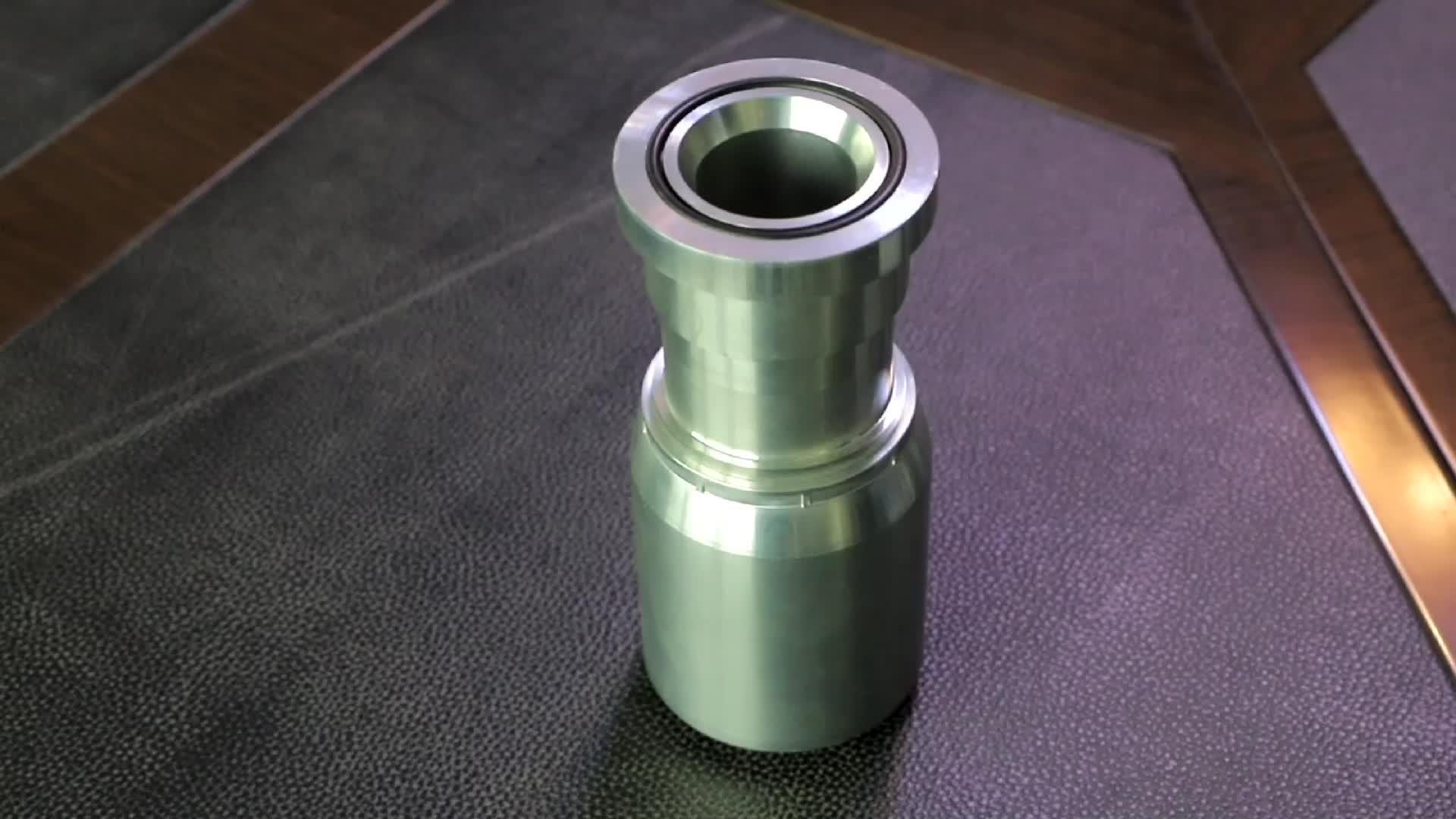 طرف حديدي لخرطوم الضغط العالي GB 3863 2 نوع/DIN20022 2SN/SEA 100R2AT خرطوم الطويق 00210