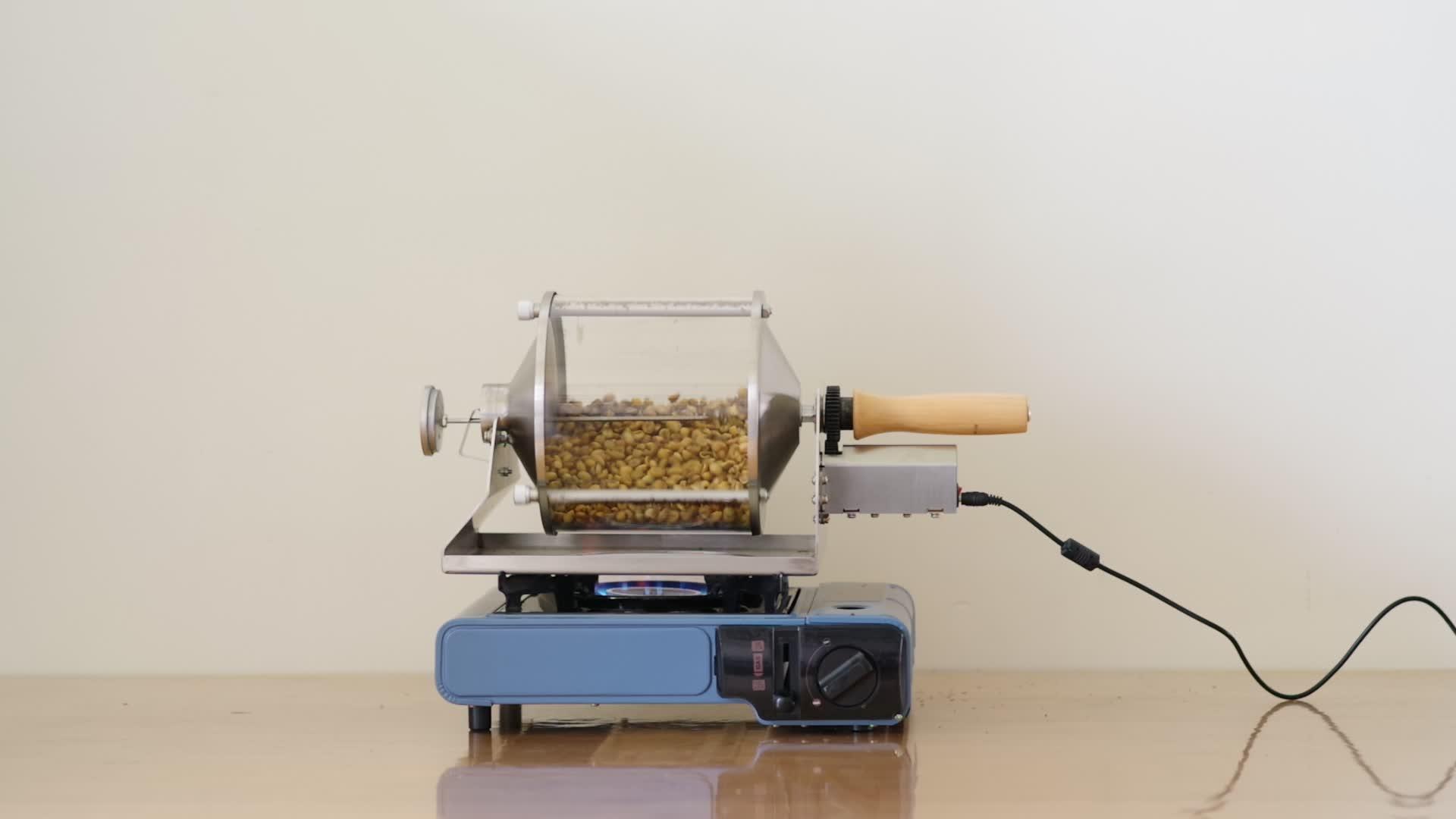 Maison Torréfacteur Machine de Torréfaction de Café, machine de torréfaction d'arachide