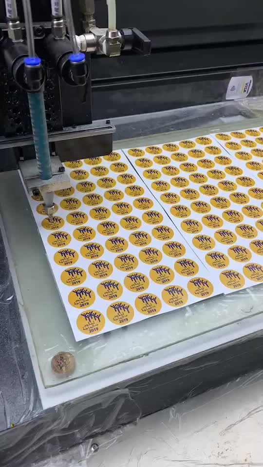 Free sample outdoor use weatherproof custom 3M adhesive 3d epoxy resin dome sticker