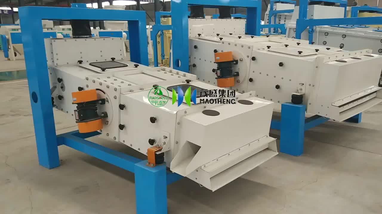 Paddy Seed Processing Equipment Paddy Rice Pre Cleaner Machine