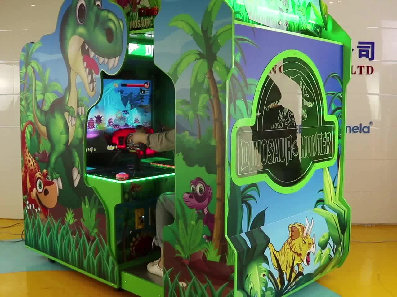 Dinosaurus Hunter Video Shooting Game Machine Simulator Spel in Muntautomaat