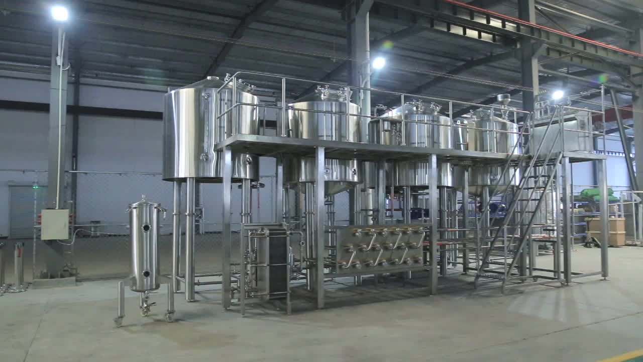 40 hl used beer brewing equipment for sale Canada